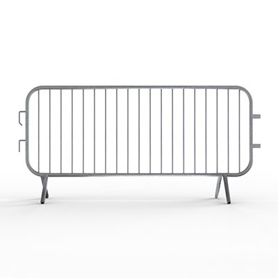 Crowd Control Barricades - 7.5ft Fixed Feet