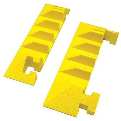 Bumble Bee® 4-Channel Cable Protector End Cap