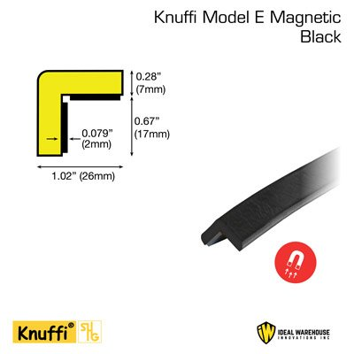 Knuffi® Magnetic Flat Corner Bumper Guards
