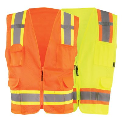 OccuNomix High Visibility Two-Tone Mesh Vests