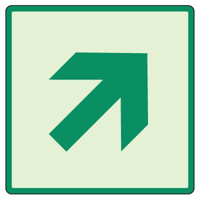 Up/Down Stairway Arrow Sign