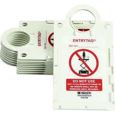 Do Not Use  - Manlift Entrytag