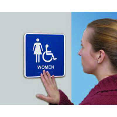Accessible (Dynamic Accessibility) - Graphic Braille Signs