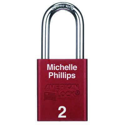American Lock® Custom Engraved Aluminum Padlocks