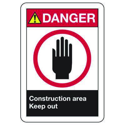ANSI Confined Space Signs - Authorized Personnel Only
