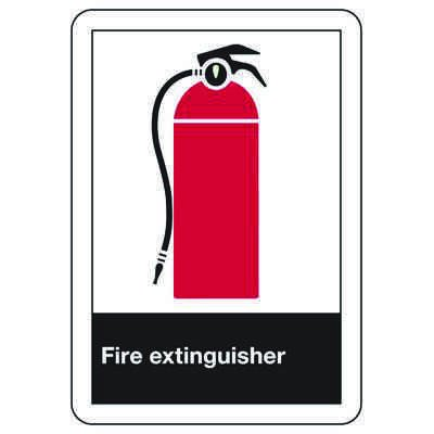 ANSI Safety Signs - Fire Extinguisher