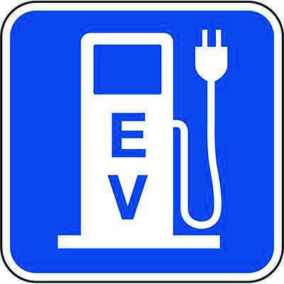California Parking Signs - Electric Vehicle Charging Signage
