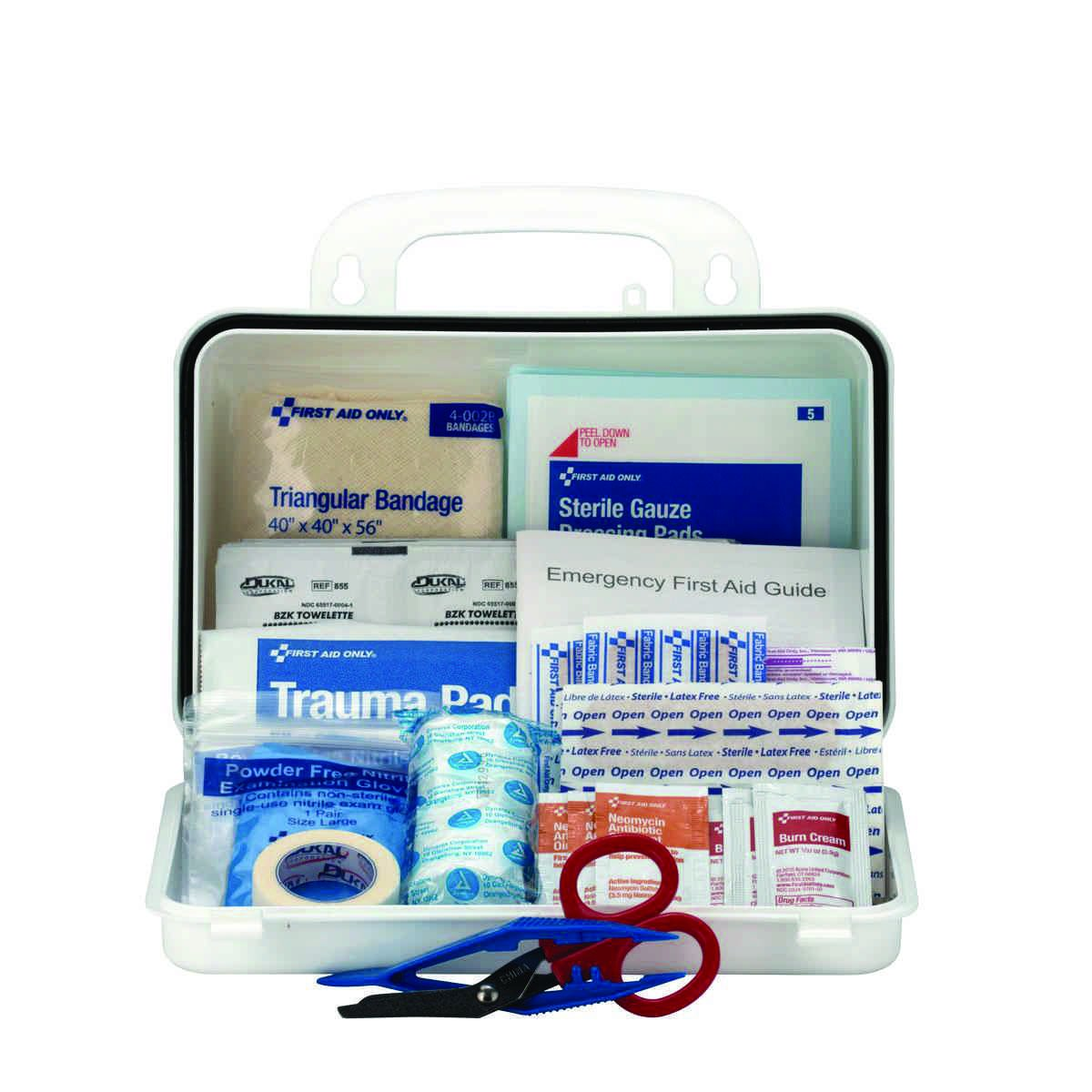 First Aid Only Contractors First Aid Kits 9300-10P