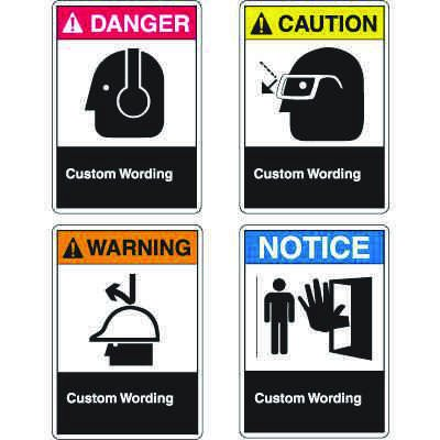 ANSI Z535.2 Custom Safety Signs