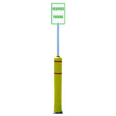 Flexbollard™ Sign Post Systems - Reserved Parking Sign