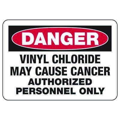 Mandatory GHS Safety Signs - Danger Vinyl Chloride