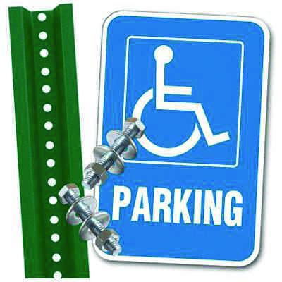 Handicap Parking Space Kit - Parking (With Graphic)