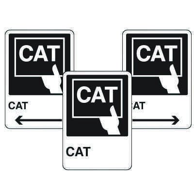 Health Care Facility Wayfinding Signs - CAT