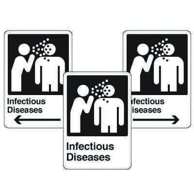 Health Care Facility Wayfinding Signs - Infectious Diseases