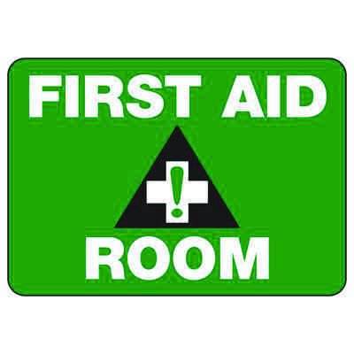 First Aid Room - First Aid Sign