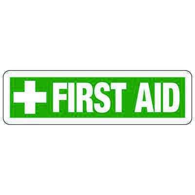 First Aid (Symbol) - Industrial First Aid Signs