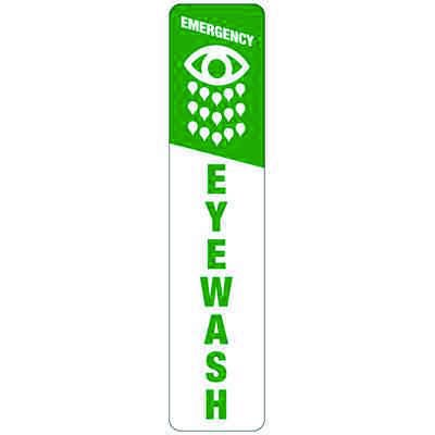 Emergency Eyewash (Symbol) - Industrial First Aid Signs