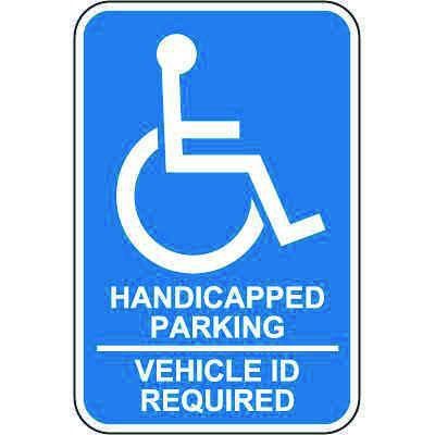 Minnesota State Handicap Signs - Handicapped Parking Vehicle ID