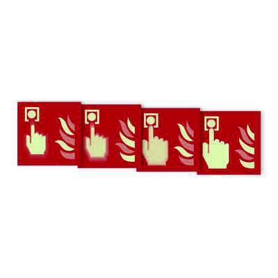 """Seton Motion® Fire Protection Sign """"Fire Alarm Call Point"""""""