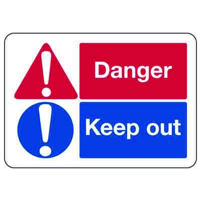 ANSI Signs - Danger Keep Out