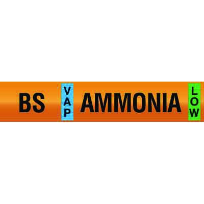 Opti-Code™ Ammonia Pipe Markers - Booster Suction