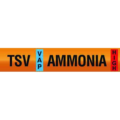 Opti-Code™ Ammonia Pipe Markers - Thermosyphon Vent