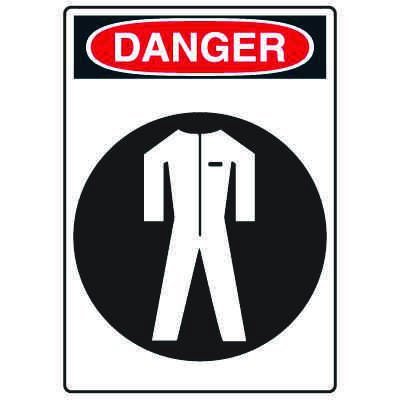 Pictogram Signs - Wear Protective Clothing