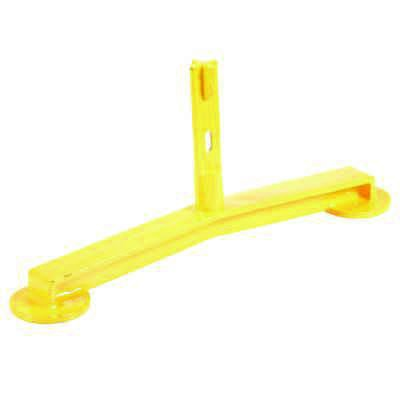 Pipe Safety Railing Barricade Base With Feet