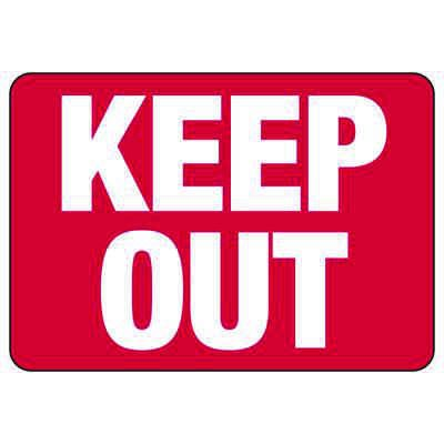 Keep Out - Property Security Signs