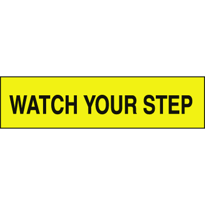 Setonsign® Value Packs - Watch Your Step