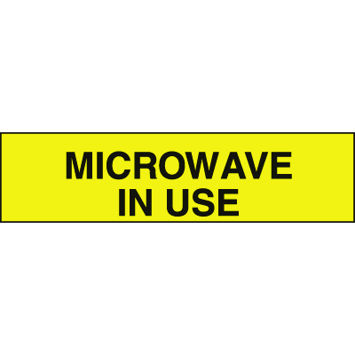 Setonsign® Value Packs - Microwave In Use
