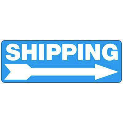 Shipping (Right Arrow) - Industrial Shipping and Receiving Signs