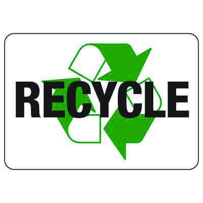 Facility Reminder Signs - Recycle