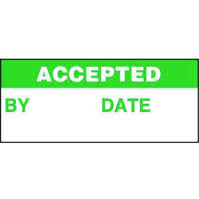 Accepted Status Label