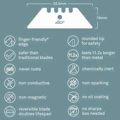 Slice® Utility Blades (Rounded Tip)