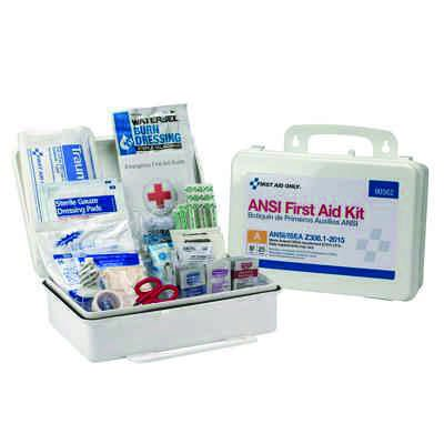 25 Person First Aid Kit, ANSI A