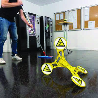 Seton 360 Floor Stand - Wet Floor Sign