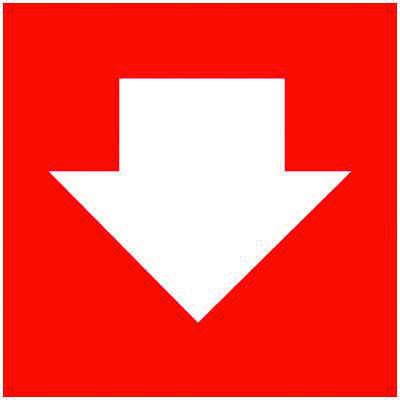 Directional Arrow Graphic Self-Adhesive Vinyl Exit Signs