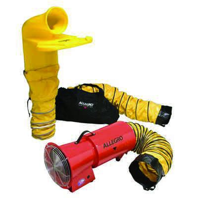 """Allegro® Axial Blower System with MVP, 8"""""""