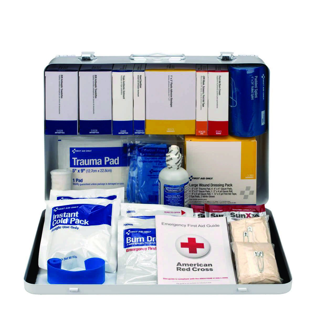 First Aid Only 50-Person Class B+ First Aid Kit