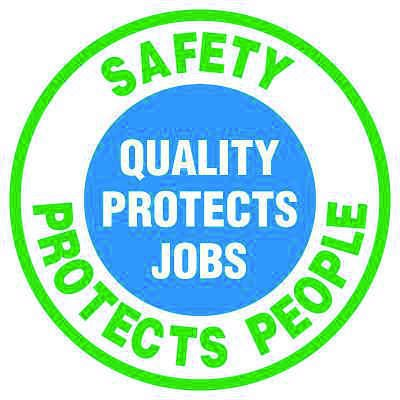 Anti-Slip Floor Markers - Safety Protects People