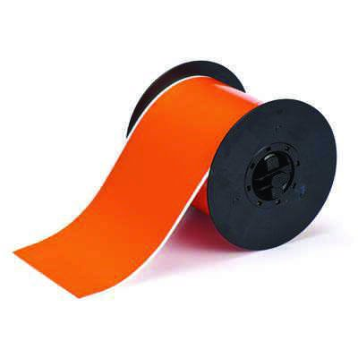 Brady B30C-4000-569-OR B30 Series Label - Orange