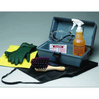 Battery Cleaning And Charging Safety Kit
