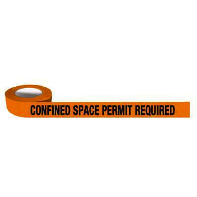 Barricade Tapes-Confined Space Permit Required