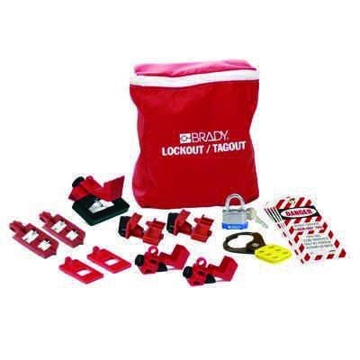 Brady Brady Breaker Lockout Pouch Kit - Part Number - 134034 - 1/Each