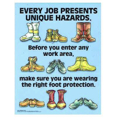 Clement Safety Posters - PPE Every Job Presents Unique Hazards