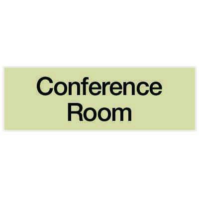 Conference Room - Engraved Standard Worded Signs