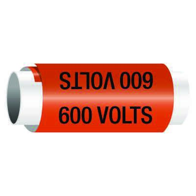 600 Volts - Snap-Around Electrical Markers