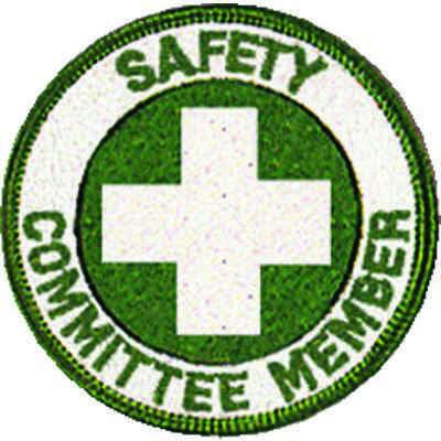 Safety Committee Member Embroidered Patch