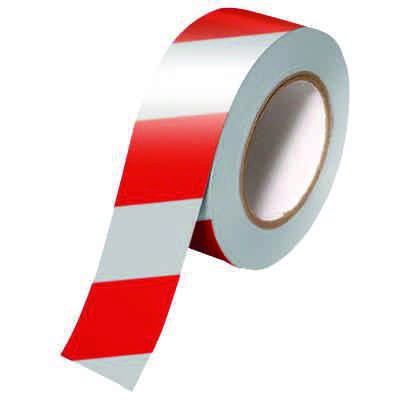 Red and White Reflective Tape